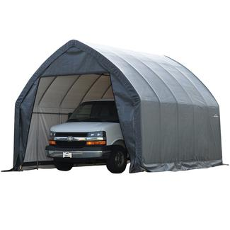 SUV/Truck Shelter 13 × 20 × 12 Gray Cover