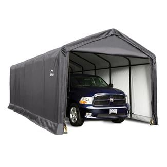 ShelterTUBE Storage Shelter 12 x 30 x 11 Gray Cover