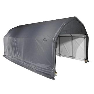 Barn Shelter 12 x 20 x 9 Gray Cover
