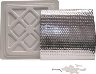 Dual Vent Cover - White