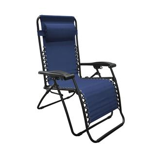 Oversized Zero Gravity Recliner, Blue