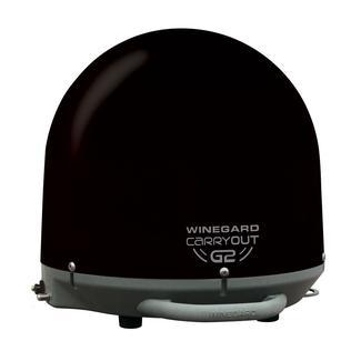 Winegard Carryout G2 Automatic Portable Satellite Antenna, Black
