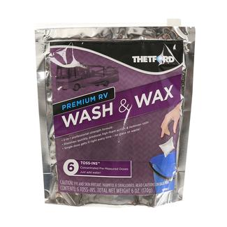 Wash & Wax Toss-In, 6-Pack