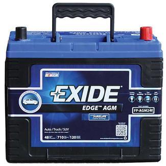 Exide AGM Battery - Group 24F - Automotive