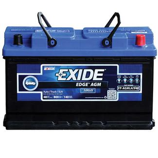 Exide AGM Battery - Group L4/94R - Automotive