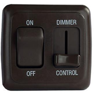 LED Strip Lighting, Light Dimmer - Black