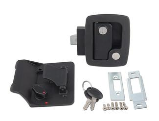Bauer Travel Trailer Lock with Keys - Black