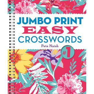 Jumbo Print Crosswords