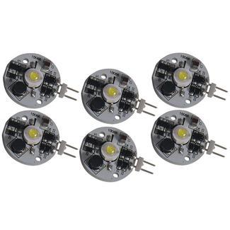 LED COB Bulbs, 6 Pack - Daylight White