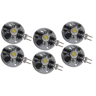 LED Bulbs - 6 pk. High Output JC10-G4 Replacements, Soft White