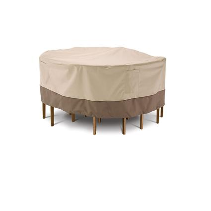 Veranda Collection Patio Furniture Covers-Medium Round Table & Chair Cover