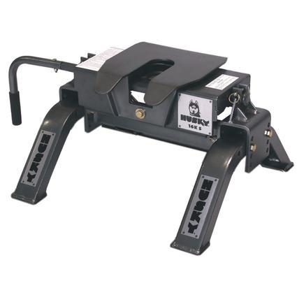 Husky 16K-S Tilt Plate Straight Jaw Hitch with Uprights