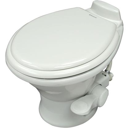 Dometic Low Profile 310 Series Gravity Discharge Toilets - White