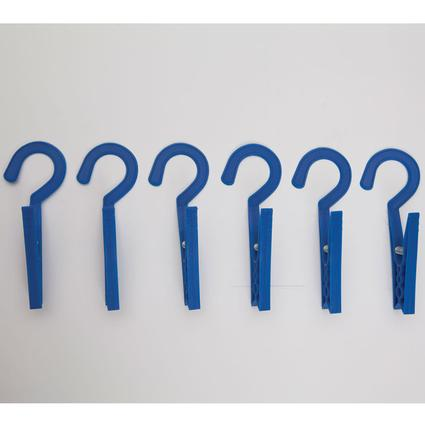 Laundry Hooks - 6 Pack