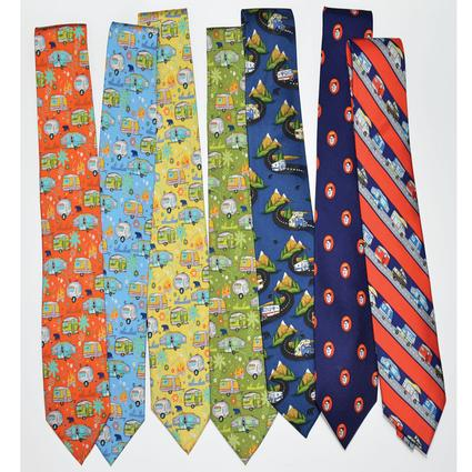 Camping-Themed Neckwear