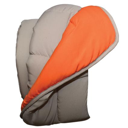 Reversible Comforter - Khaki/Orange