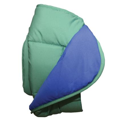 Reversible Comforter - Blue/Green