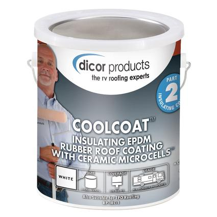CoolCoat Rubber Roof Ceramic Coating, Gallon