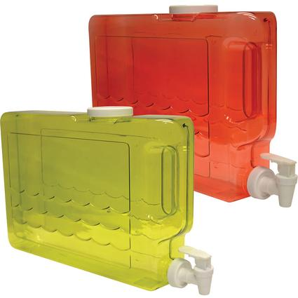 Beverage Container, 1 1/4 Gallon - Assorted Colors