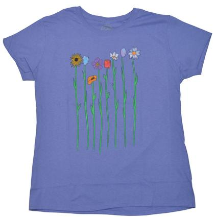 Women's Floral T-Shirt - XX Large