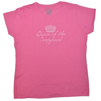 Queen of the Campground T-Shirt - X Large
