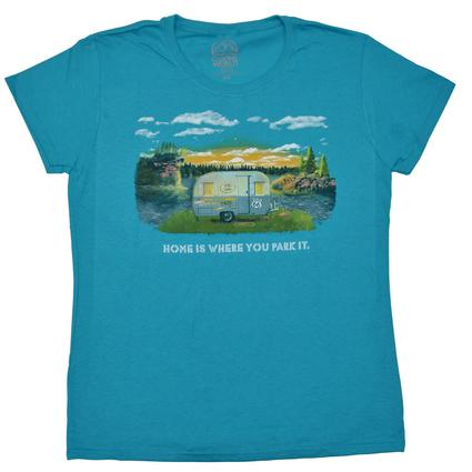 Ladies' Travel Trailer T-Shirt - XX Large