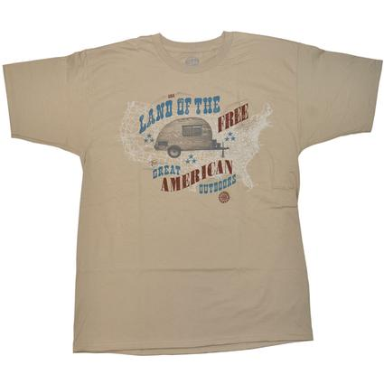 "Men's ""Land of the Free"" T-Shirt - X Large"