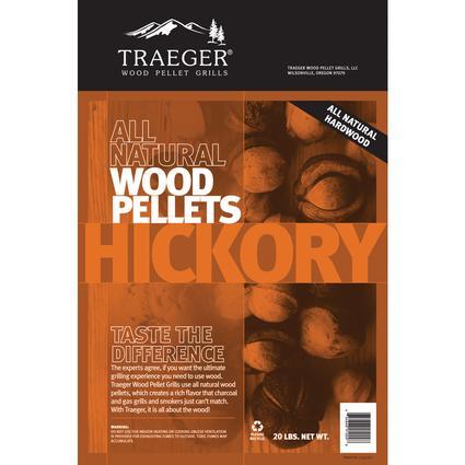 Hickory Pellets, 20 lb. bag