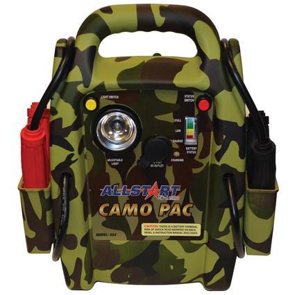 Camo Pac Battery Jump Starter