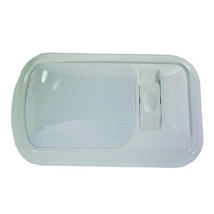 Single 12-volt Dome Light, White