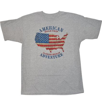 Men's American Road Trip T-Shirt - Medium