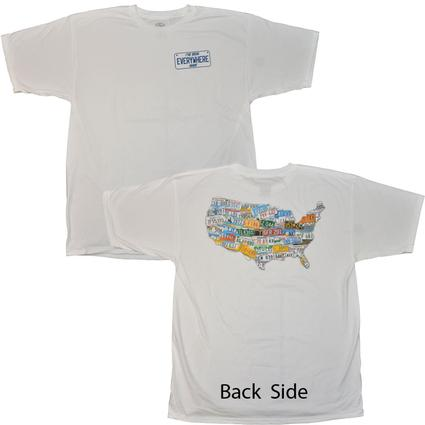 "Men's ""I've Been Everywhere"" T-Shirt - Large"