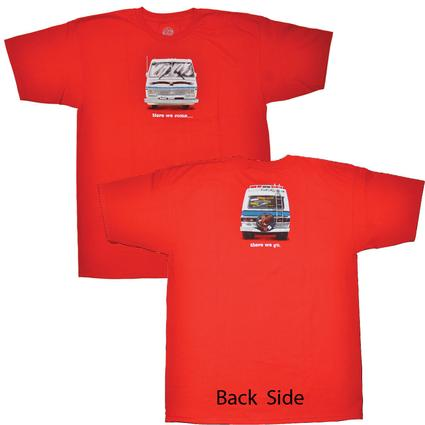 "Men's Red ""Here We Come"" T-Shirts"