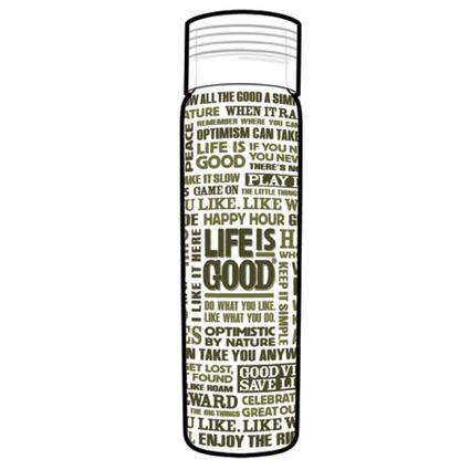 Life Is Good Double Wall Water Bottles, 32 oz. - Avocado Green