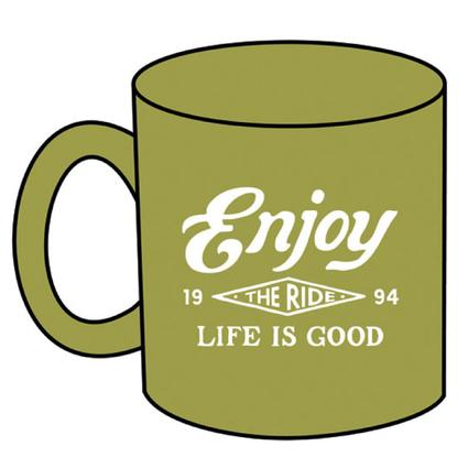 Life Is Good Jake's Enjoy the Ride Mug, 16 oz.