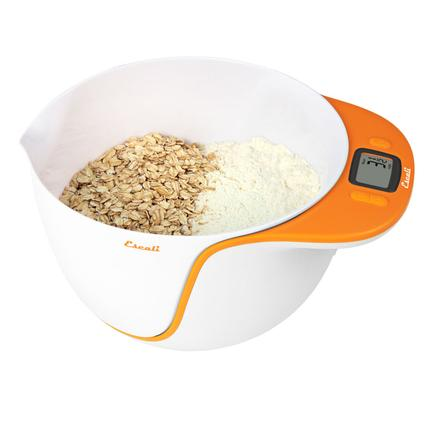 Taso Mixing Bowl Scale - Orange