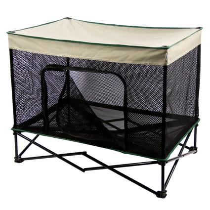 Quik Shade Instant Pet Kennel with Mesh Bed - Medium