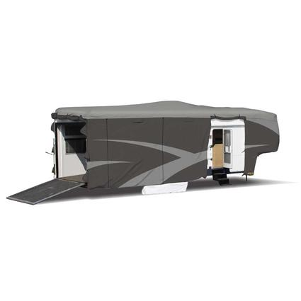 Designer Series SFS Aqua Shed 5th Wheel RV Cover - 31'1
