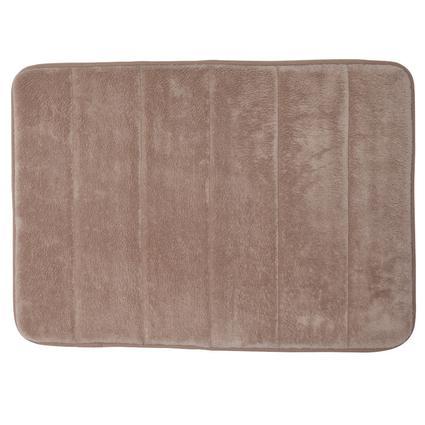 Memory Foam Bath Mat - Taupe