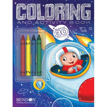 Boys' Coloring & Activity Book