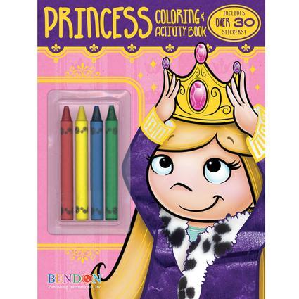 Princess' Coloring & Activity Book
