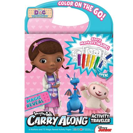 Carry Along Travelers - Disney Doc McStuffins with Crayons