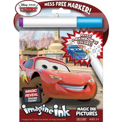 Imagine Ink Magic Ink - Disney Cars