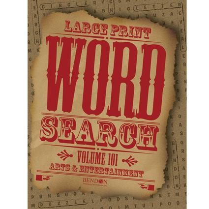 Large Print Jumbo Word Search Vol. 101-102