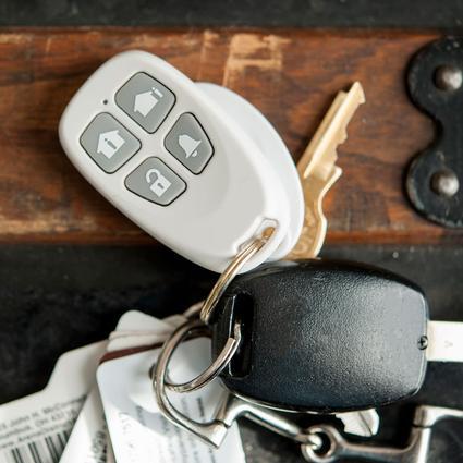 TattleTale Keychain Remote - White