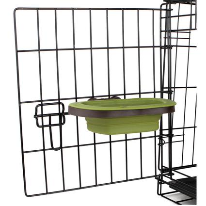 Collapsible Large Kennel Bowl