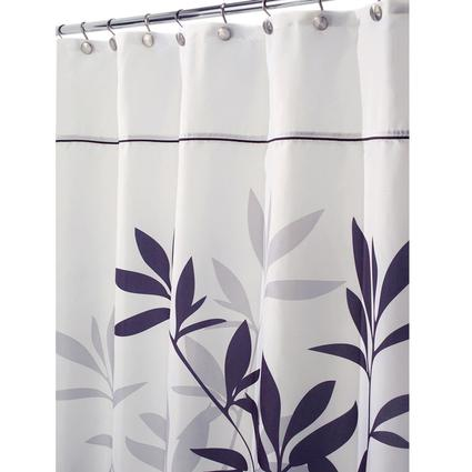 Stall-Size Shower Curtain - Black