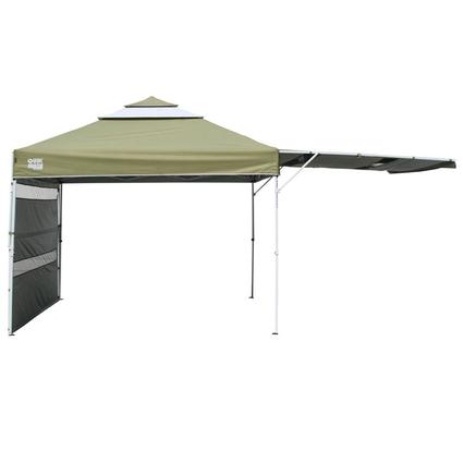 Quik Shade S233 Summit Canopy with Double Full Awning Panel