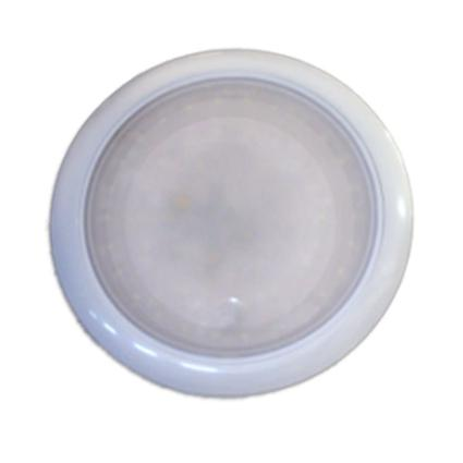 "7"" Round LED Slim Line Touch Light Fixture with 68 SMD Diodes"