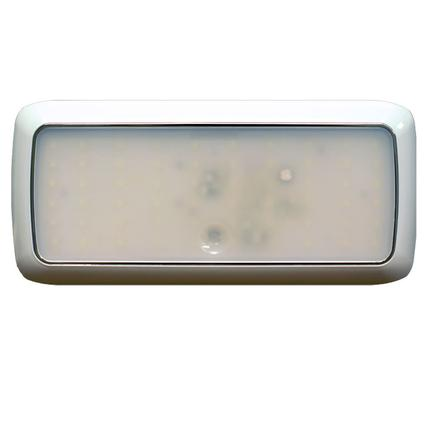 "8.5"" Rectangle LED Slim Line Touch Light Fixture with 80 SMD Diodes"